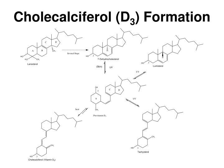 Cholecalciferol (D