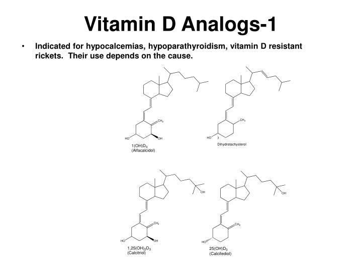 Vitamin D Analogs-1