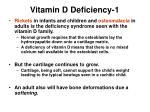 vitamin d deficiency 1