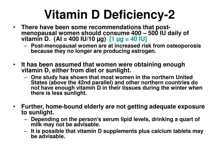 Vitamin D Deficiency-2
