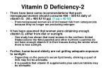 vitamin d deficiency 2