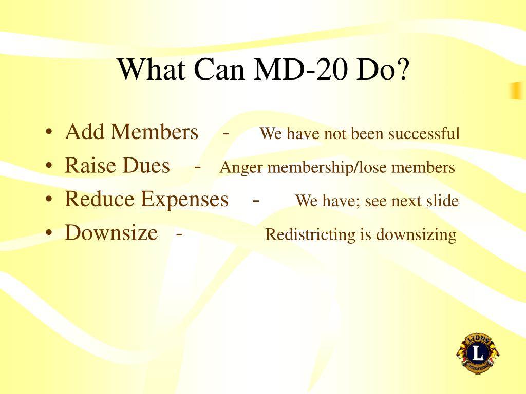 What Can MD-20 Do?