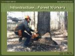 infrastructure forest workers