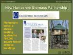 new hampshire biomass partnership