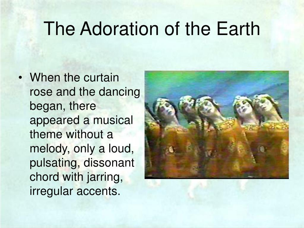 The Adoration of the Earth