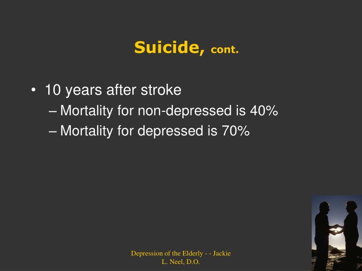 Suicide,