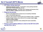 do it yourself dity moves
