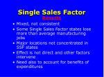 single sales factor44