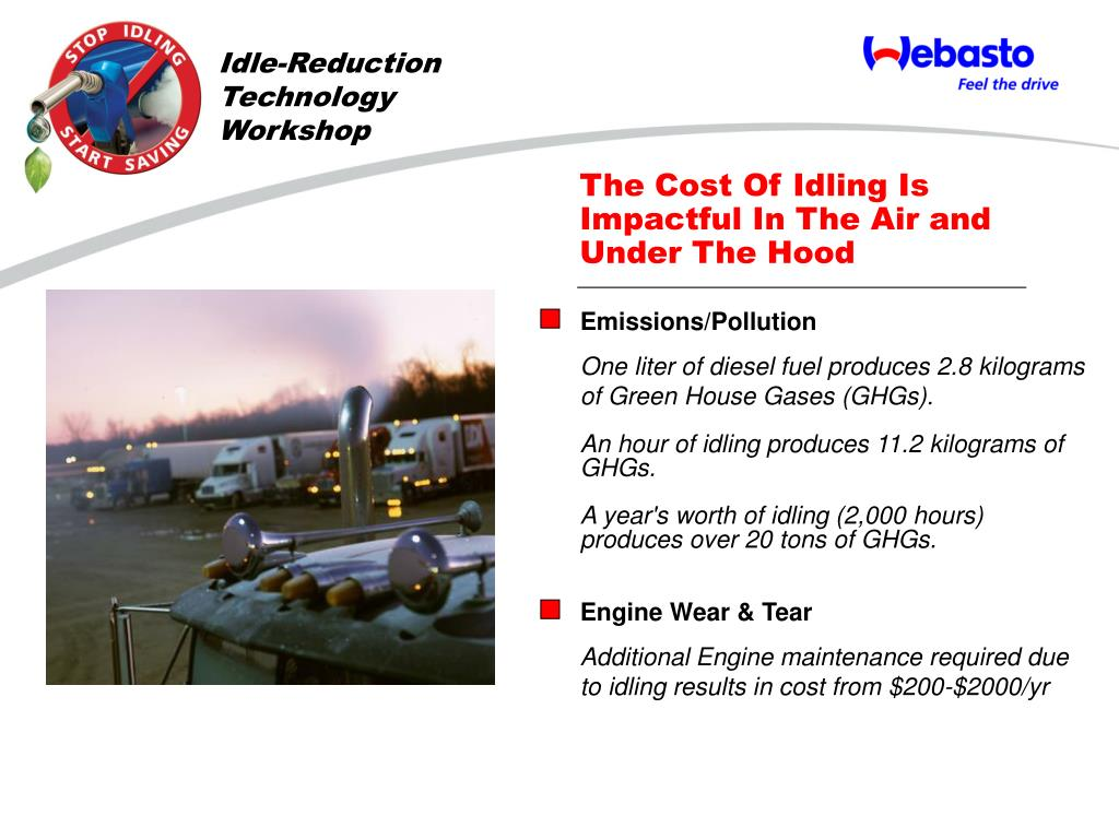 Idle-Reduction Technology Workshop