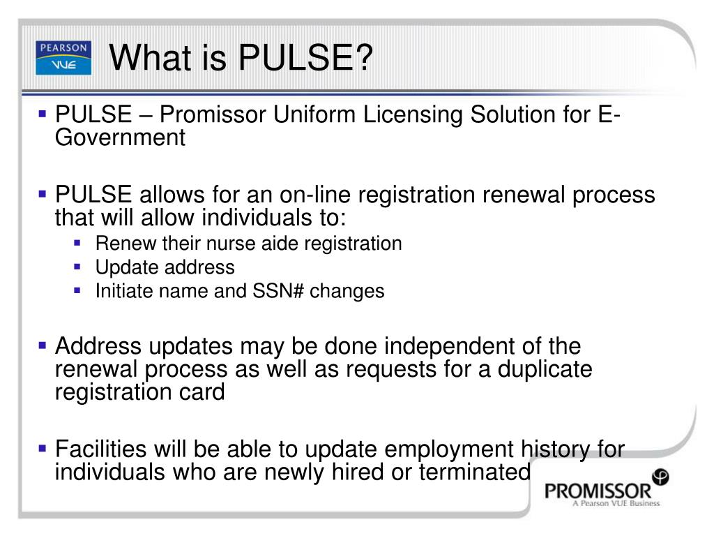 PULSE – Promissor Uniform Licensing Solution for E-Government