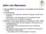 john von neumann25