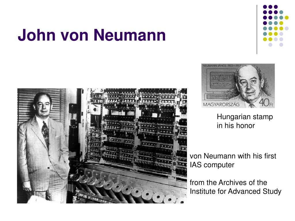 biography john von neumann computer