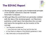 the edvac report