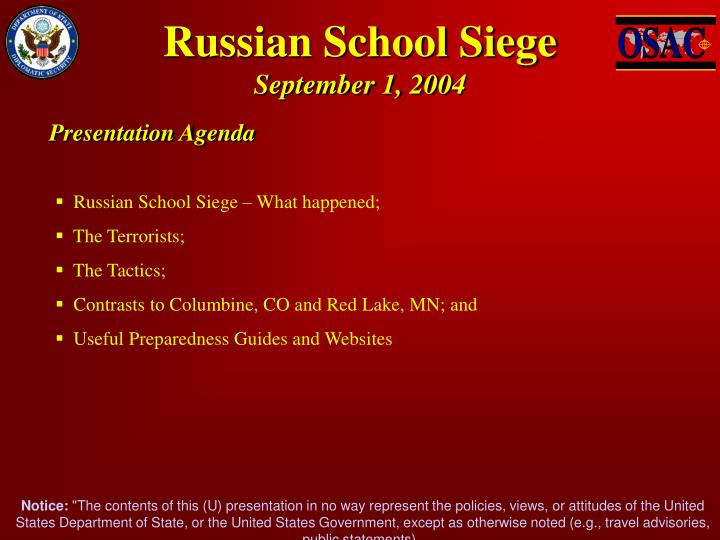 Russian school siege september 1 2004