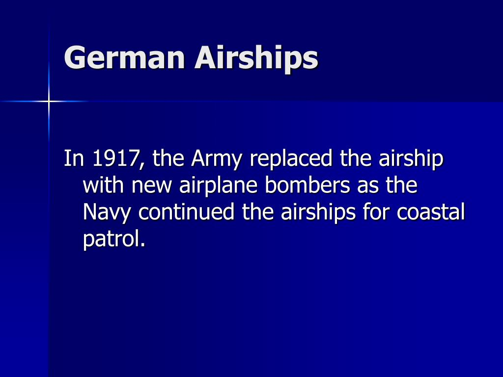 German Airships