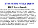 beckley mine rescue station18