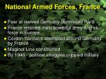 national armed forces france
