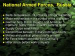national armed forces russia