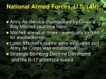 national armed forces u s air