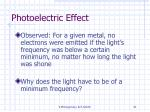 photoelectric effect41