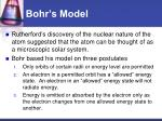 bohr s model