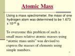 atomic mass59