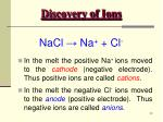 discovery of ions19