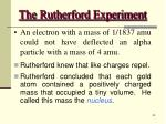 the rutherford experiment33