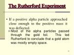 the rutherford experiment34