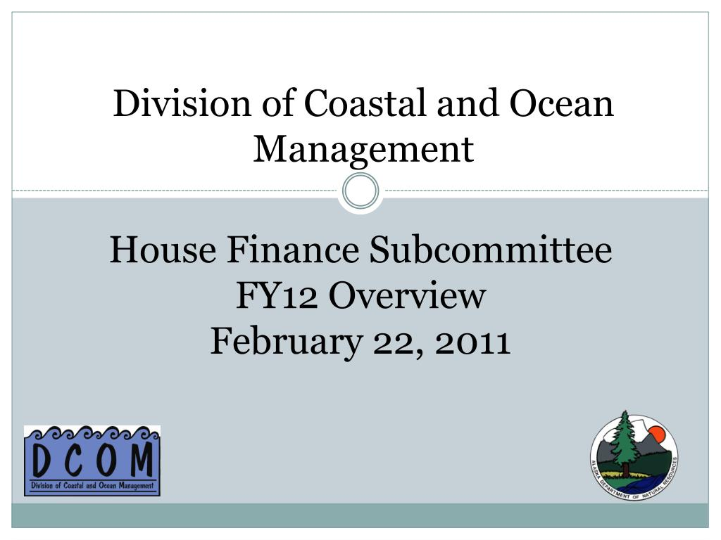 division of coastal and ocean management