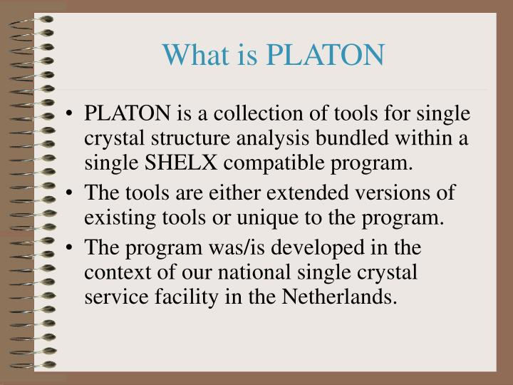 What is platon