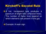 kirchoff s second rule