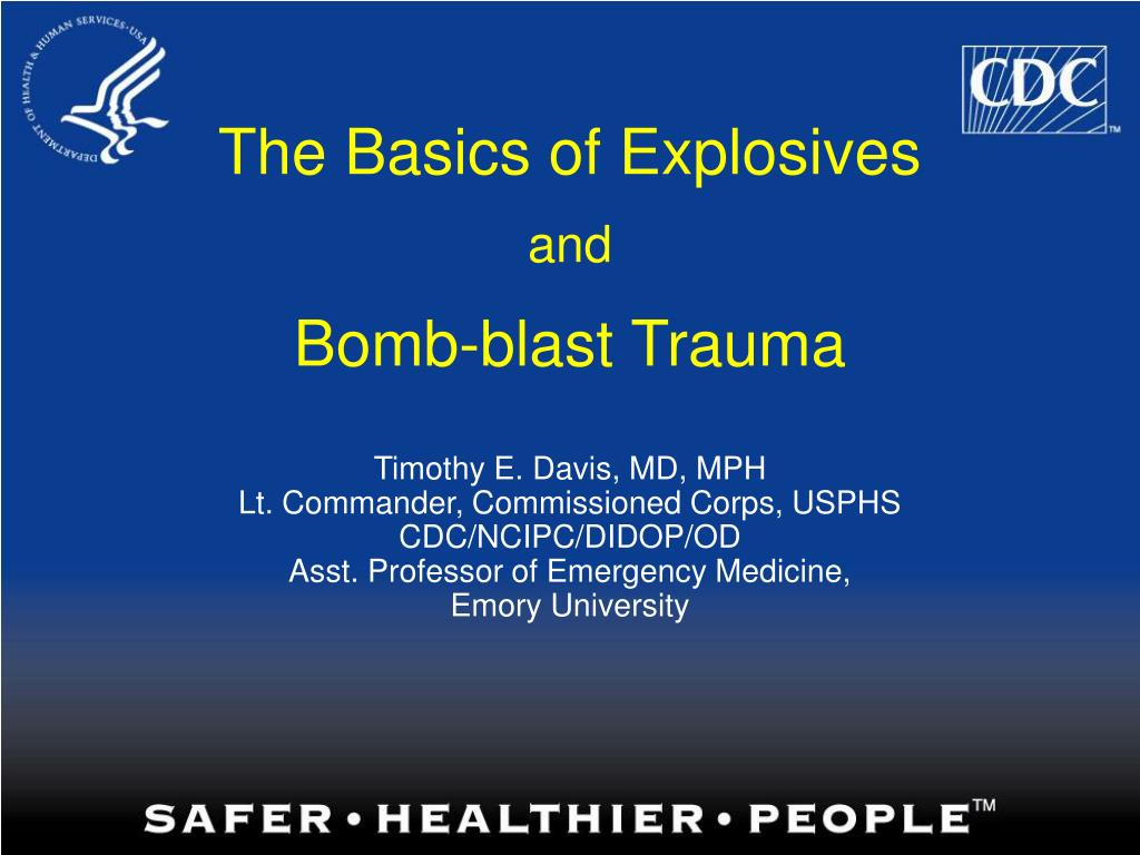 The Basics of Explosives