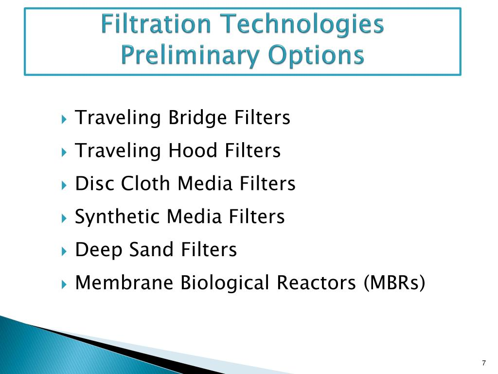 Filtration Technologies