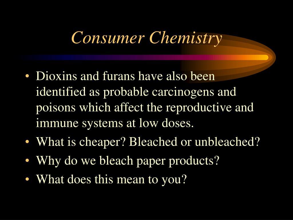 Consumer Chemistry