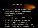 dalton s theory17