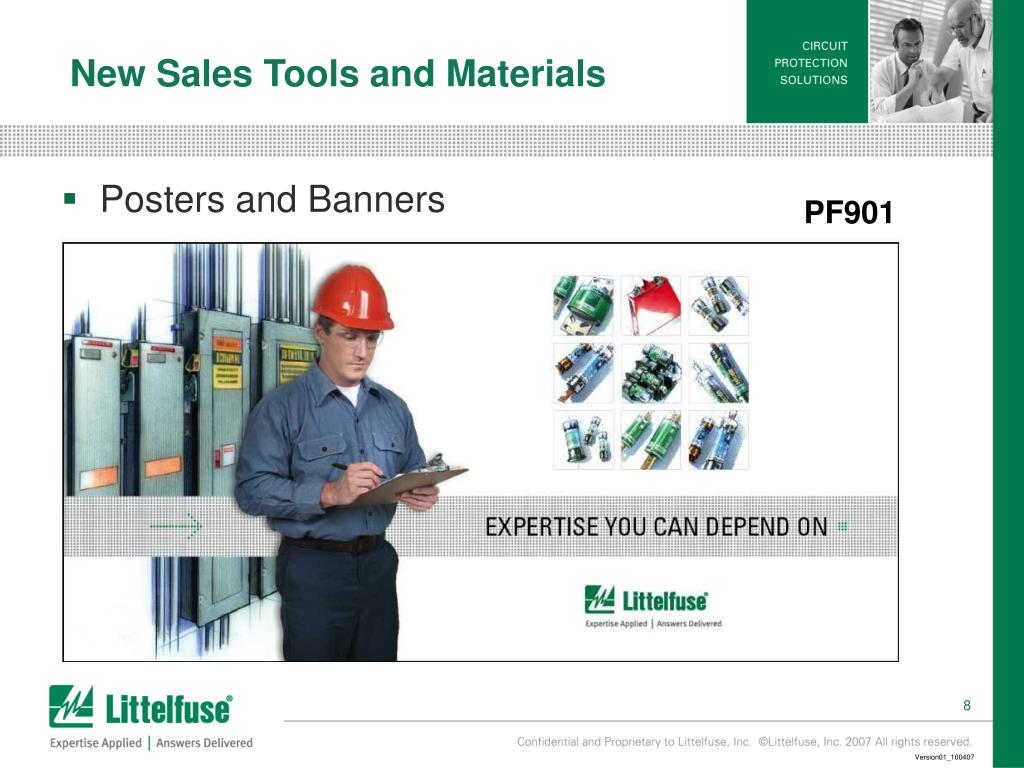 New Sales Tools and Materials