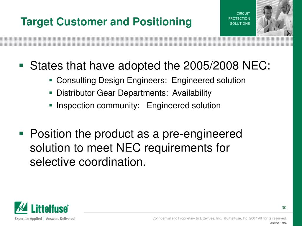 Target Customer and Positioning