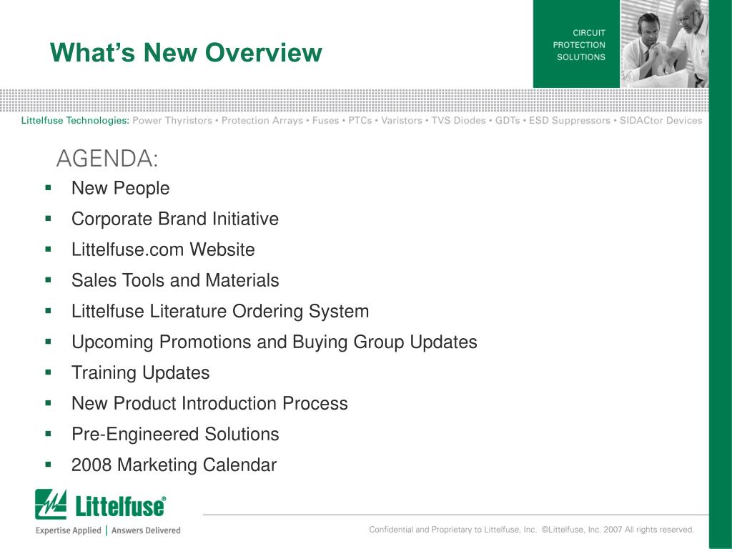 What's New Overview