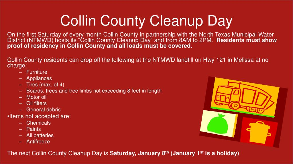 Collin County Cleanup Day