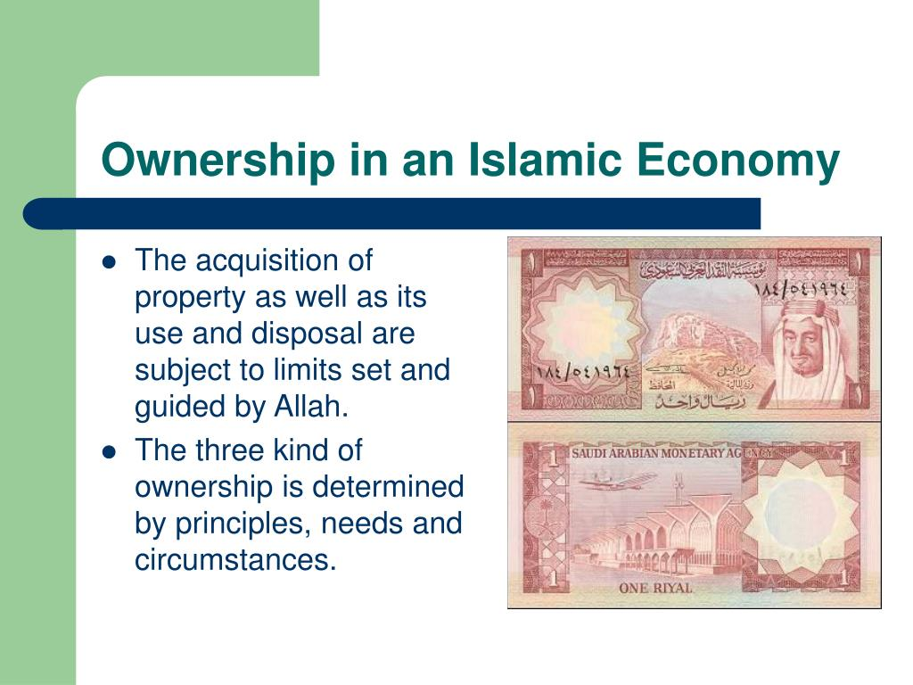 Ownership in an Islamic Economy