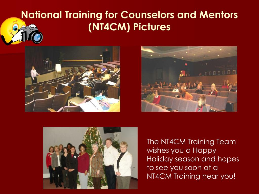 National Training for Counselors and Mentors
