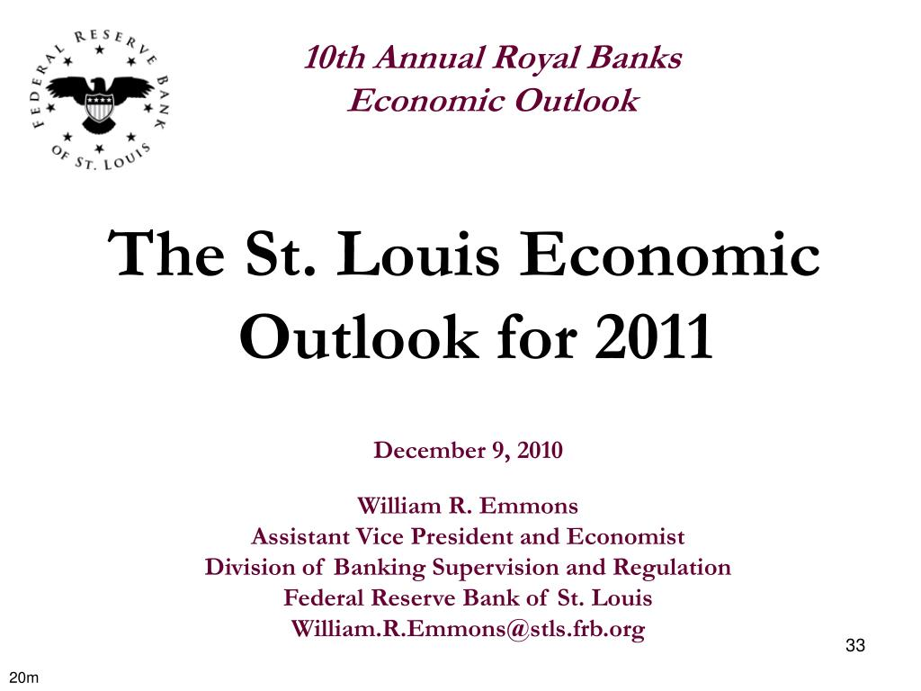 10th Annual Royal Banks Economic Outlook