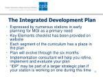 the integrated development plan11