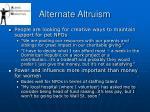 alternate altruism38