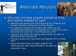 alternate altruism39