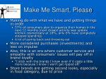 make me smart please22
