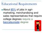 educational requirements13
