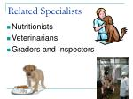 related specialists