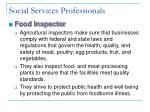 social services professionals28